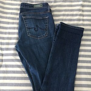 AG The Stevie Slim Straight Fit Jeans